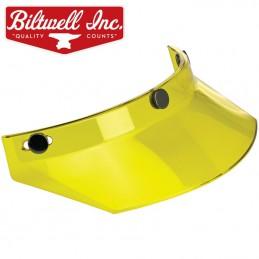 Visière à pression BILTWELL Yellow translucide