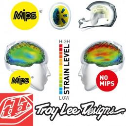 Casque enfant Troy Lee Designs SE4 Mips