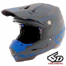 Casque 6D ATR-2 Recon Gray-Blue