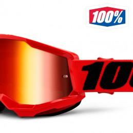 Masque 100% STRATA 2 Red iridium
