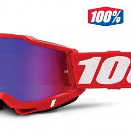 Masque 100% ACCURI 2 Red iridium