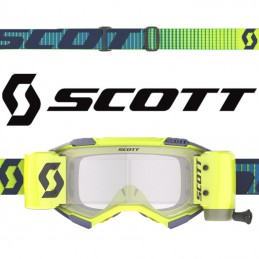 Masque SCOTT FURY WFS Yellow-Navy