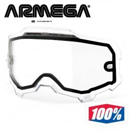 Ecran double clair anti-buée 100% ARMEGA