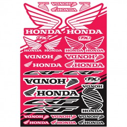 Planche de stickers FX HONDA CRF
