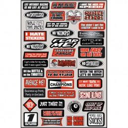Planche de stickers FX Fun phrases