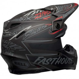 Casque BELL MOTO 9 Flex FASTHOUSE DID 21'