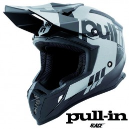 Casque PULL IN RACE Black-silver 2021