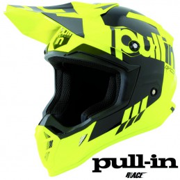 Casque PULL IN RACE Flo yellow 2021