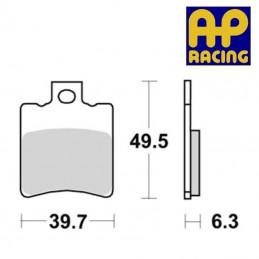 Plaquettes de frein AP RACING LMP297ST