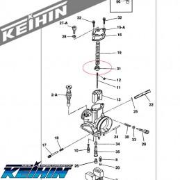 Guide de ressort KEIHIN PWK 28
