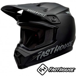 Casque BELL MX-9 FASTHOUSE Matt black