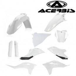 Kit plastique complet blanc ACERBIS 125 MC