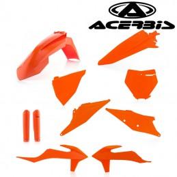 Kit plastique complet orange ACERBIS 125 SX