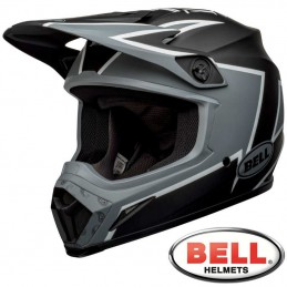 Casque BELL MX-9 TWITCH Matte black