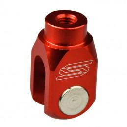 Pivot de pédale de frein 125 KX rouge