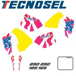 Kit déco réplica TECNOSEL 125 RM