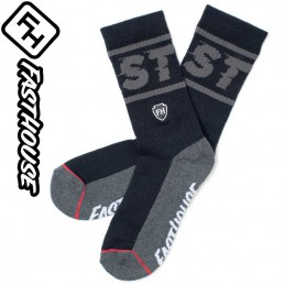 Chaussettes FASTHOUSE BRONSON Black-Grey