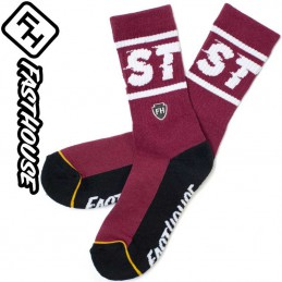 Chaussettes FASTHOUSE BRONSON Maroon-Black