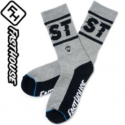 Chaussettes FASTHOUSE BRONSON Grey-Black