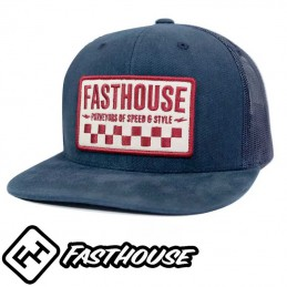 Casquette FASTHOUSE ATTICUS DUSTY Blue