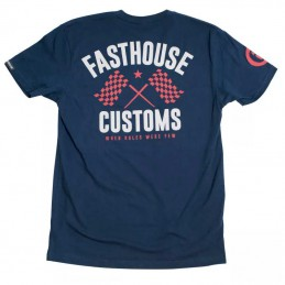 Tee-shirt FASTHOUSE 68 TRICK Navy