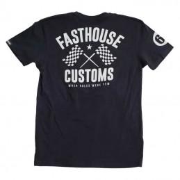 Tee-shirt FASTHOUSE 68 TRICK Black