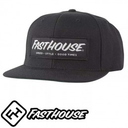 Casquette FASTHOUSE Speed style black