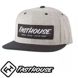 Casquette FASTHOUSE Speed style gray