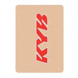 Stickers de fourche KAYABA red