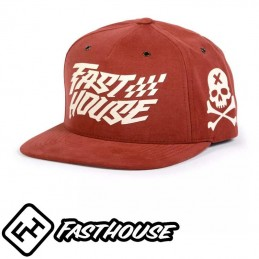 Casquette FASTHOUSE RUFIO Red