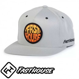 Casquette FASTHOUSE GRIME Grey