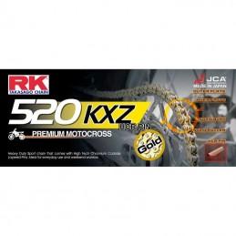 Chaine ultra renforcée RK 520 KXZ Gold