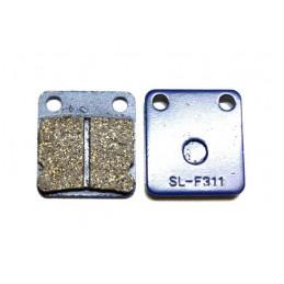 Plaquettes de frein arrière simple piston MINI