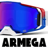 Masques motocross 100% ARMEGA