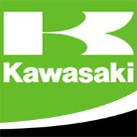 Plaques latérales KAWASAKI