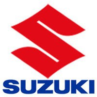 Plaque numéro avant SUZUKI