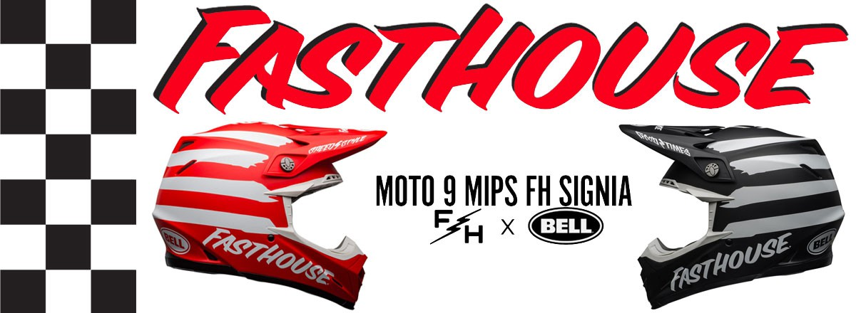 Casque BELL MOTO-9 FASTHOUSE Signia 2020